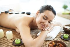 Before massage Royalty Free Stock Images