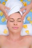 Massage principal Images libres de droits