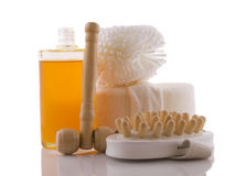 Massage products Royalty Free Stock Photography