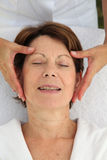 Massage relaxation Stock Images