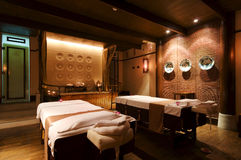 Massage room Stock Images