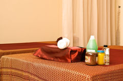 Massage room Stock Photography