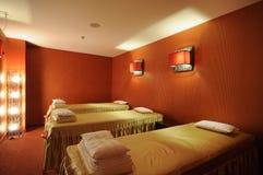 Massage room stock photography