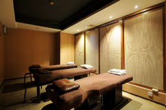 Massage room Royalty Free Stock Photo