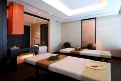 Massage room. In a hotel Stock Images