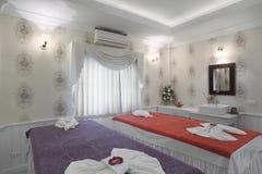 Massage room interior Stock Images