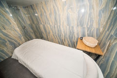Massage room in the spa center of the hotel in Kranevo, Bulgaria Stock Photography