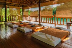Massage room in Thailand Stock Photography
