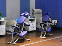 Massage salon Stock Images