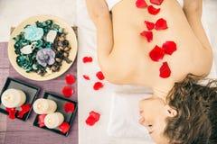 Massage salon Stock Photography