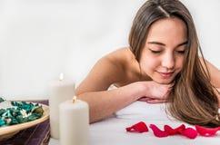 Massage salon Royalty Free Stock Photo