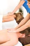 Massage: Schmelze weg der Druck mit Massage Lizenzfreies Stockfoto