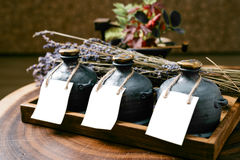 Massage series stock photography