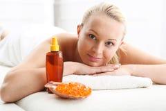 Massage, soulagement et relaxation de relaxation images libres de droits