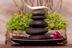 massage spa πέτρες στοκ φωτογραφίες
