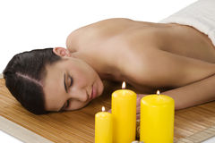 Massage at spa Royalty Free Stock Photography