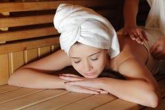Massage spa Stock Photo