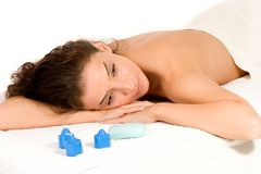 massage spa Στοκ Εικόνες