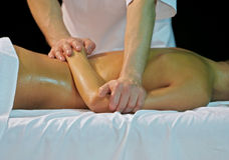 Massage at spa Royalty Free Stock Image
