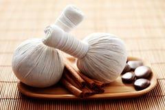 Massage stamps Stock Photo