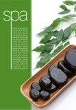 Massage-Steine stockfotografie