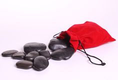 Massage stones Stock Photography