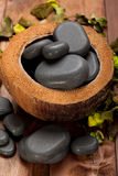 Massage stones Stock Images