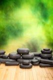Massage stones Stock Image