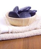 Massage stones royalty free stock photography