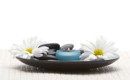 Massage stones Stock Images