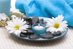 Massage stones Royalty Free Stock Image