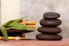 Massage stones Royalty Free Stock Photography