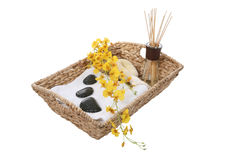 Massage Supplies Royalty Free Stock Images