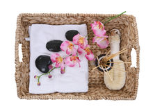 Massage Supplies Royalty Free Stock Photography