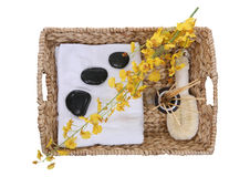 Massage Supplies Royalty Free Stock Photos