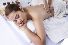 Massage Techniques I Stock Images