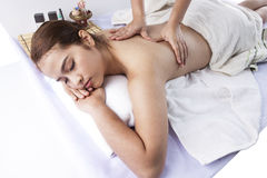 Massage Techniques I Royalty Free Stock Photos