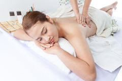 Massage Techniques I Stock Photos