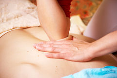Massage thaï Images libres de droits