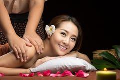Massage thaï Image libre de droits