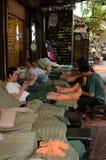 Massage thaïlandais en Thaïlande images stock