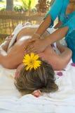 Massage thaï Photos libres de droits