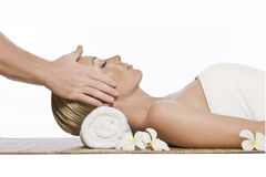 Massage theme Royalty Free Stock Image