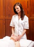 Massage Therapist Royalty Free Stock Photography