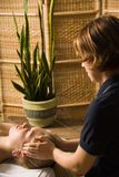 Massage therapist Royalty Free Stock Images