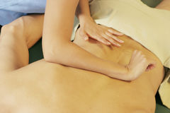Massage therapy Royalty Free Stock Photos