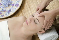 Massage Therapy Royalty Free Stock Photography