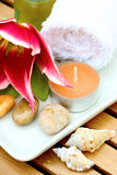 Massage therapy products Royalty Free Stock Photos