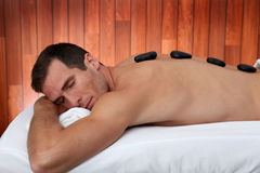 Massage time Royalty Free Stock Photography