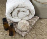 Massage time Stock Photo